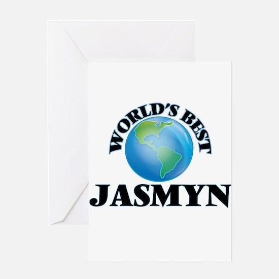 World's Best Jasmyn Greeting Cards