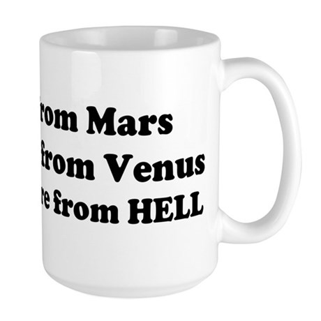 Computers are from HELL<br> Large Mug
