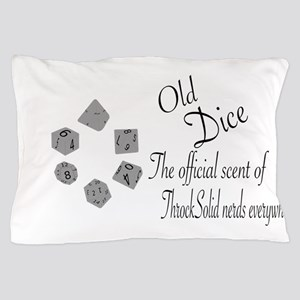 Old Dice Pillow Case