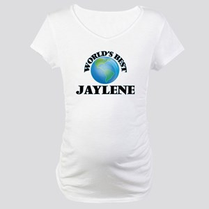 World's Best Jaylene Maternity T-Shirt