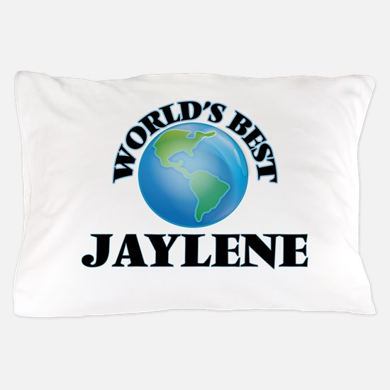 World's Best Jaylene Pillow Case