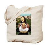Mona's 2 Cavaliers Tote Bag