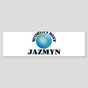 World's Best Jazmyn Bumper Sticker