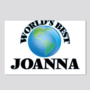 World's Best Joanna Postcards (Package of 8)