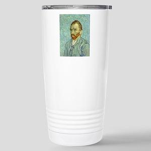 Vincent Van Gogh Self Portrait Travel Mug
