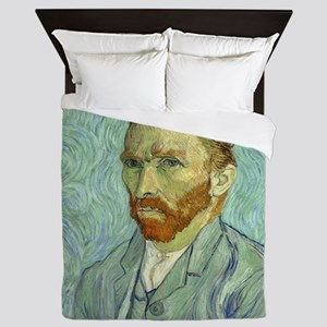 Vincent Van Gogh Self Portrait Queen Duvet