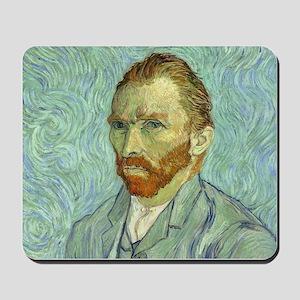 Vincent Van Gogh Self Portrait Mousepad