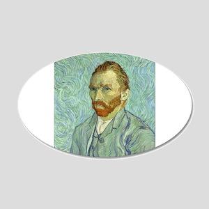 Vincent Van Gogh Self Portrait Wall Decal