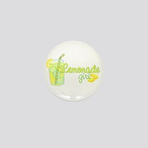 Lemonade Girl Mini Button