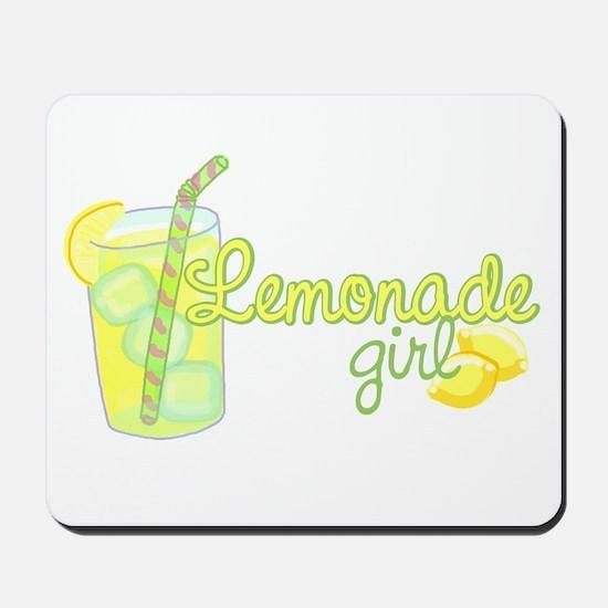 Lemonade Girl Mousepad