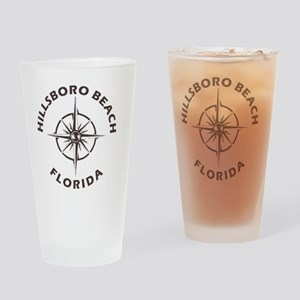 Florida - Hillsboro Beach Drinking Glass