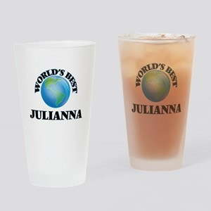 World's Best Julianna Drinking Glass