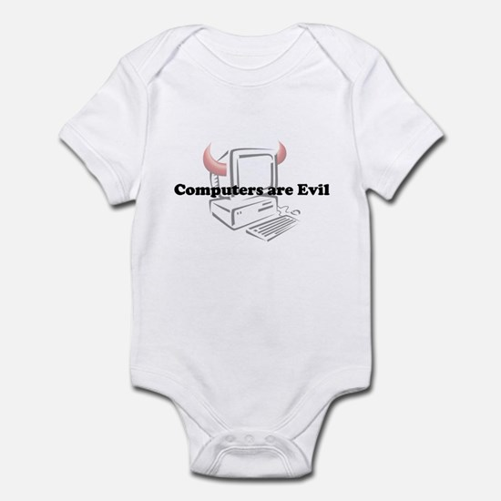 Computers are Evil Infant Bodysuit