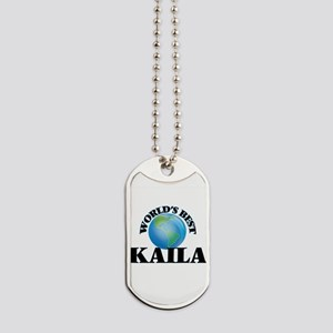 World's Best Kaila Dog Tags