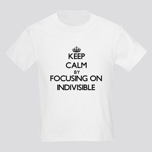 Keep Calm by focusing on Indivisible T-Shirt