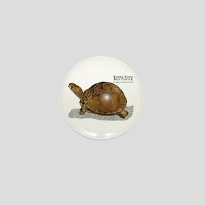 Three-Toed Box Turtle Mini Button