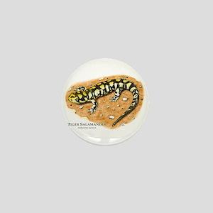 Tiger Salamander Mini Button