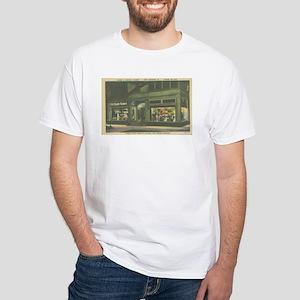 Chopin Flowers White T-Shirt
