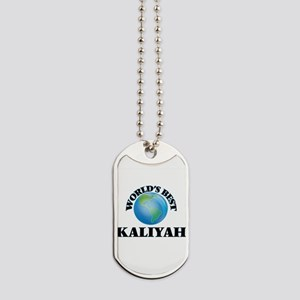 World's Best Kaliyah Dog Tags