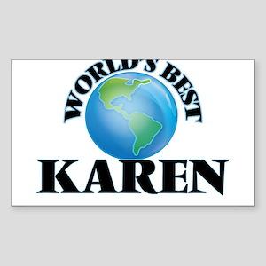 World's Best Karen Sticker