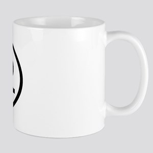 BRR Oval Mug