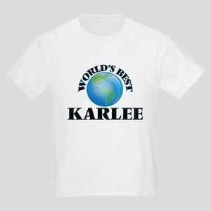 World's Best Karlee T-Shirt