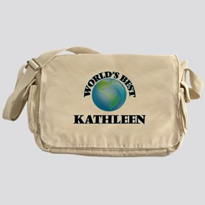 World's Best Kathleen Messenger Bag