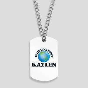 World's Best Kaylen Dog Tags