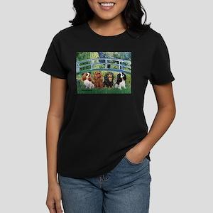 Bridge & 4 Cavaliers Women's Dark T-Shirt