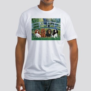 Bridge & 4 Cavaliers Fitted T-Shirt