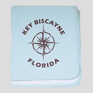 Florida - Key Biscayne baby blanket