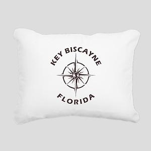 Florida - Key Biscayne Rectangular Canvas Pillow