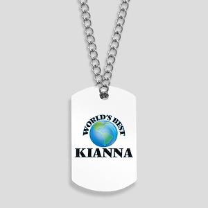 World's Best Kianna Dog Tags