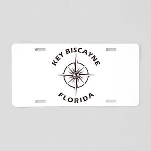 Florida - Key Biscayne Aluminum License Plate