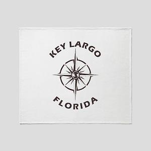 Florida - Key Largo Throw Blanket