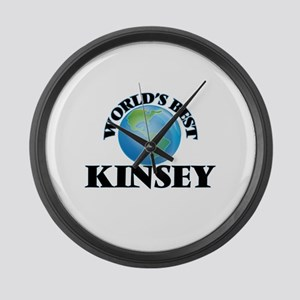 World's Best Kinsey Large Wall Clock