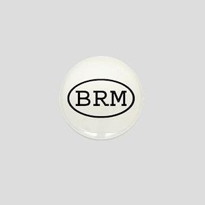 BRM Oval Mini Button