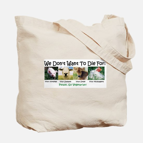 Cow Family/animal Voices Tote Bag