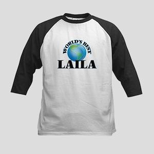World's Best Laila Baseball Jersey