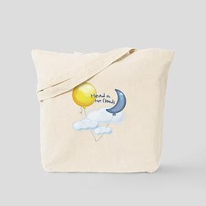 Head In Clouds Tote Bag