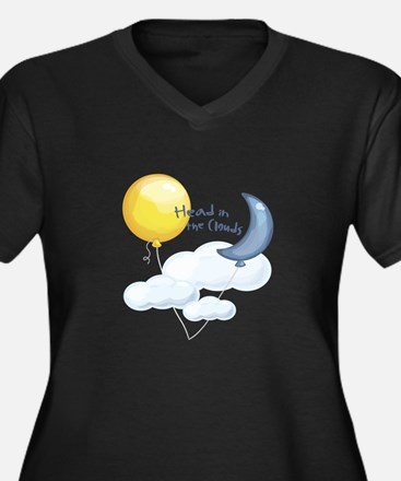 Head In Clouds Plus Size T-Shirt