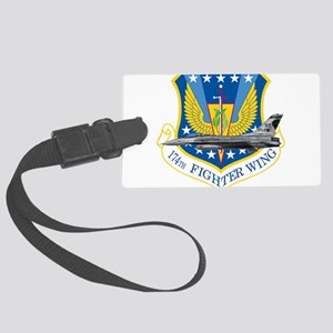 f16_174_fighter_wing_f-16_ang.pn Large Luggage Tag