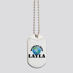 World's Best Layla Dog Tags