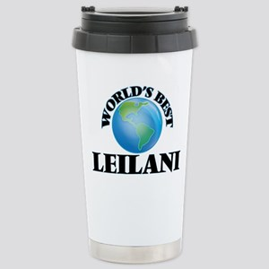 World's Best Leilani Stainless Steel Travel Mug
