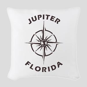 Florida - Jupiter Woven Throw Pillow