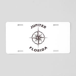 Florida - Jupiter Aluminum License Plate