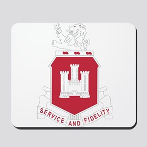 113th Army Engineer Battalion Military P Mousepad