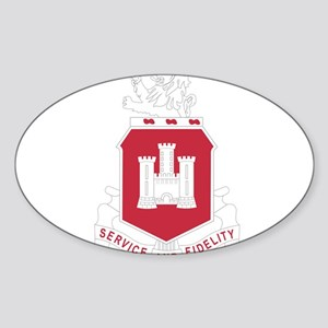 113th Army Engineer Battalion Military Pat Sticker