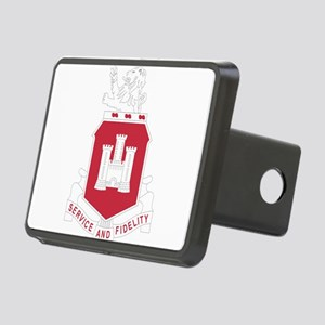 113th Army Engineer Battal Rectangular Hitch Cover
