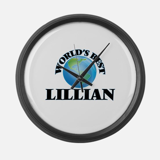 World's Best Lillian Large Wall Clock